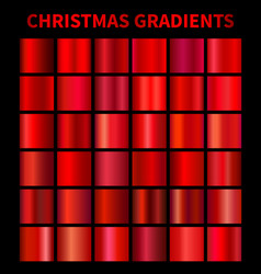 Christmas red gradients vector