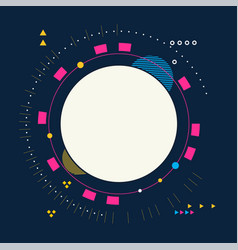 creative abstract design background vector image