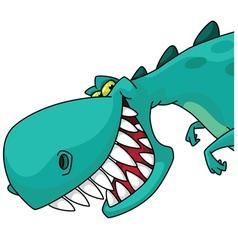 Dino head vector