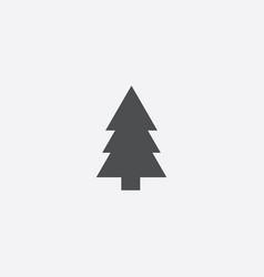 Fir-tree icon vector