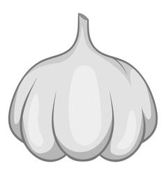 Garlic bulb icon cartoon style vector