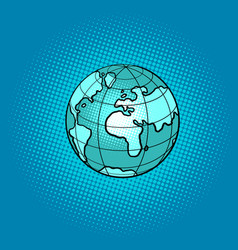 planet earth international symbol vector image