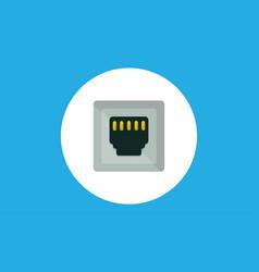 port icon sign symbol vector image