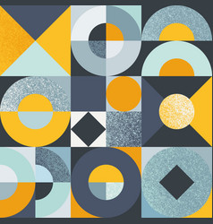seamless pattern with colorful geometric vector image