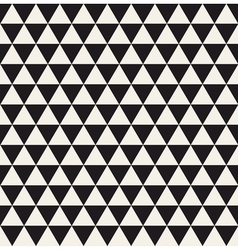 Triangle geometric seamless pattern vector image