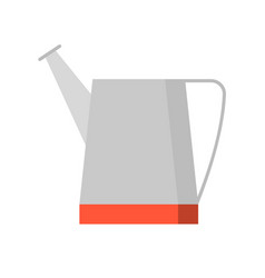 water can flat icon vector image