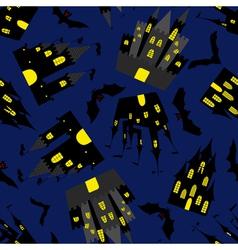halloween seamless vector image vector image