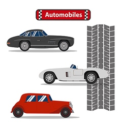 Automobile vector image
