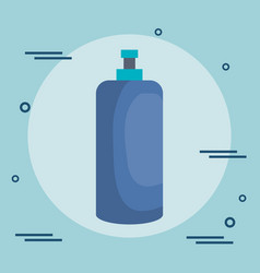 Bottles gym wellness lifestyle vector