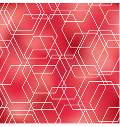 Geometrical abstract pink seamless pattern vector