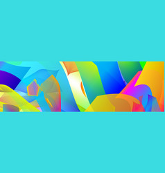 gradient abstract space multicolored vector image