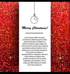 new year and christmas banner design template vector image