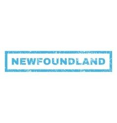 Newfoundland Rubber Stamp vector image
