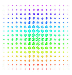 Rotor shape halftone spectrum effect vector