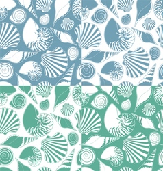 Set of patterns with shells vector