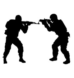 Silhouette of people with arms vector