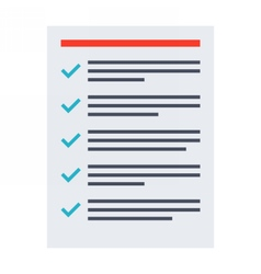 Tasks Completed Concept vector image vector image