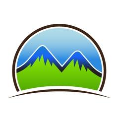 Mountain Seal vector image vector image