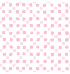 pink squares seamless pattern vector image