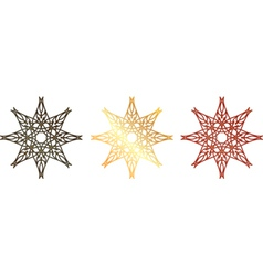 vintage stars vector image vector image