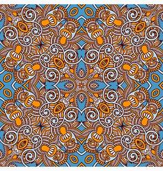 original retro paisley seamless pattern vector image