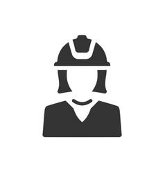 Architect engineer icon vector