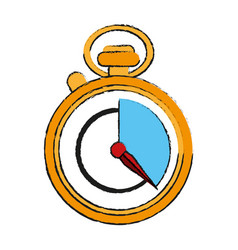 Chronometer draw vector