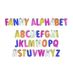Letters Alphabet for Children Education vector
