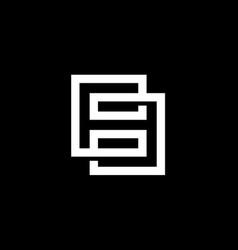 modern number 8 or eight logo design vector image