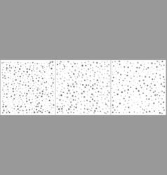 silver foil stars confetti celebration falling vector image