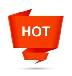 speech bubble hot design element sign symbol vector image