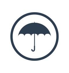Umbrella flat icon vector