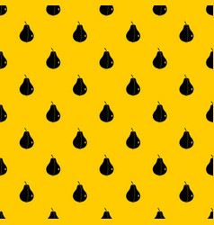 whole pear pattern vector image