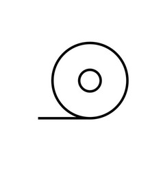 plaster icon vector image vector image