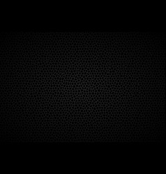 different polygons background abstract black vector image