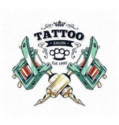 Tattoo Print 3 vector image vector image