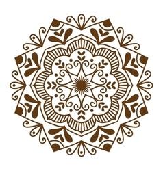 Mandala pattern vector image vector image