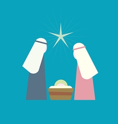 Star of Bethlehem Nativity vector image