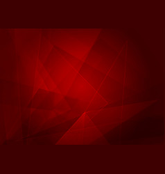 Abstract red background with shape vector