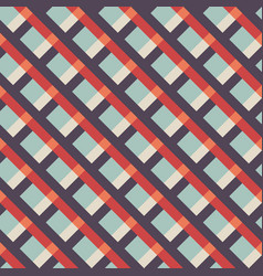 abstract seamless retro vintage pattern background vector image
