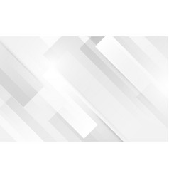 abstract white square shape with futuristic vector image