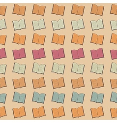 Book pattern vector