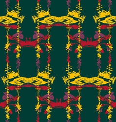 Seamless ikat pattern2 vector image