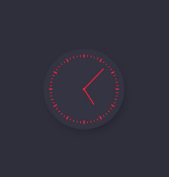 Time watch vector