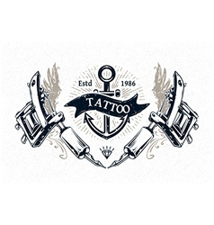 Tattoo Print 4 vector image vector image