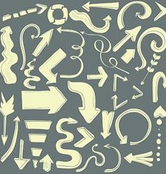 Arrows10 vector image vector image