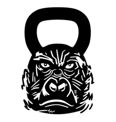 Lifting wieghts gym kettlebell dumbbell vector