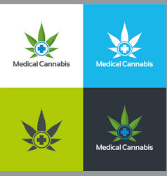 Medical cannabis vector