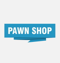 Pawn shop vector