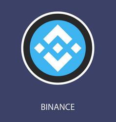 Set physical golden coin binance coin bnb vector